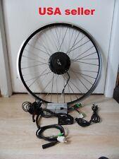"Electric bike Geared conversion Kit 26"" Rear 36V 800W disc hub motor QR wire"