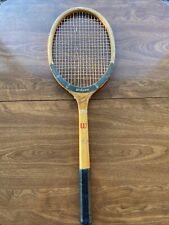 Wilson Super Stroke Vintage Wood Tennis Racquet wall hanging decor art man cave
