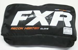 FXR Racing Black Heated Recon Gloves - 200810-1000-00