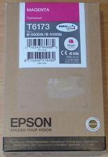 Genuine Epson T6173 Magenta Cartuccia rosso ORIGINALE XL 100 ML INK B-500DN B-510DN