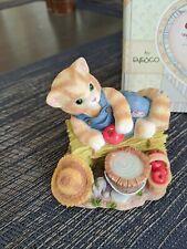Calico Kittens Feel-Ine Fine In The Country Nib 543519 in box