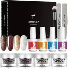 TOMICCA Dipping Powder Starter Kit With 4 Elegant Colors - DPSKE-4