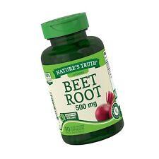 BEET ROOT 500 mg Vitamin Minerals Antioxidants Supper Food Supplement 90 Caps