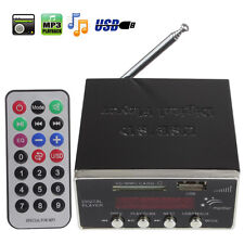 US Digital Audio Power Amplifier Home Hi-Fi Stereo MP3 Player Support USB SD MMC
