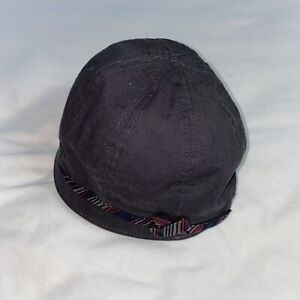 Goorin Sand Cassel Kids Old Style Dress Cadet Hat Cap Fitted Gray With Band M/L