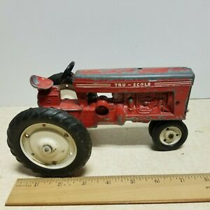 Toy 560 Vintage Tru Scale Tractor #401 #4