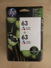 Hp 63 Color Ink Cartridge Pack