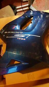 Triumph sprint St 1050 Blue Right Hand Fairing panel 2005 onwards