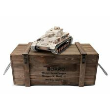 1:16 Torro German Panzer IV RC Tank 2.4GHz Infrared Metal Edition PRO Kharkov 43