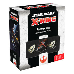 Star Wars X-Wing Second Edition Phoenix Cell Squadron Expansion Pack NEW