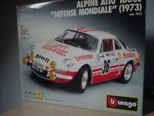 Burago  1/16 pièces   Alpine Renault 1600 S   Boîte seule