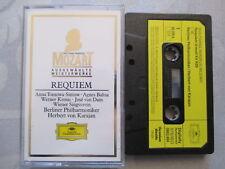 Mozart Reqiuem D-Moll  Karajan - MC Cassette Kassette Sonderauflage West Germany