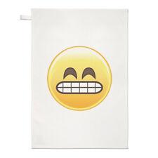 Maladroit Dents Façade Emoji Torchon Chiffon De Vaisselle - Visage Smiley Drôle