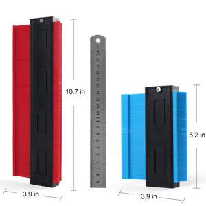 5 10 Inch Shape Contour Gauge Duplicator Circular Frame Profile Tool with Ruler