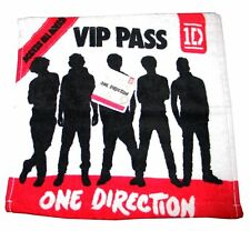 Official 1D One Direction VIP PASS Children's Face Wash Cloth Flannel Towel
