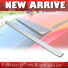 PAINTED FOR HONDA 12-15 CIVIC 9th F-Style SEDAN HYBRID REAR WING ROOF SPOILER §