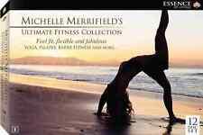Michelle Merrifield - 12 Disc Yoga Barre Pilates Ultimate Fitness Free Postage