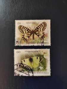 Briefmarke Nordmazedonien Makedonien Macedonia Makedonija MiNr. 615 / 617