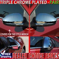 2011 2012 2013 2014 2015 Chevy Cruze/2016 Cruze LIMITED Chrome Mirror Covers cap