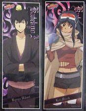 Hitman Reborn 2 Stick Poster Set Hibari, Lal Mirch Anime MINT