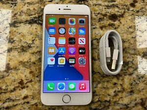 Apple iPhone 6S 64GB Silver White Gsm At&t Unlocked Clean ESN Smartphone #44