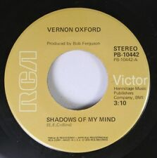 Country 45 Vernon Oxford - Shadows Of My Mind / She'S Always There On Rca