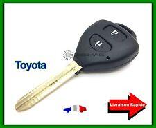 Coque Télécommande Plip Bouton Clé TOYOTA Avensis, Corola, Verso + Lame
