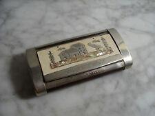 Tabatière ancienne Boite à Priser Comtoise Nickel - Antique Snuf Box