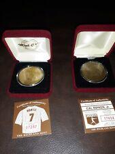 Highland Mint Coin Lot Mickey Mantle Cal Ripken Jr.