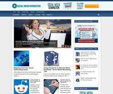 Turnkey Social Media Marketing Website Autopilot Free Hosting
