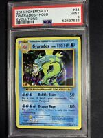 2016 Pokemon XY Evolutions Gyarados Holo Card #34 PSA 9 MINT G79