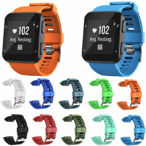 For Garmin Forerunner 35 Watch Band Silicone Replacement Wristband Strap Bands