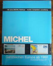 Michel Katalog Ganzsachen Westliches Europa ab 1960 von 2011 - NAGELNEU!!