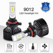 9012 LED Headlight Bulbs Kit For Dodge Ram 1500 2500 3500 Low Beam 2013-2015