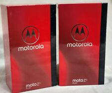 MOTO Z3 PLAY XT1929-8 4+ 64GB -DEEP INDIGO -BONUS MOTOMOD POWER PACK -GSM ONLY