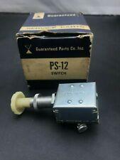 Heavy Duty Push-Pull Switch 12V 15A - USA made -  No 42200 - Service Parts PS-12