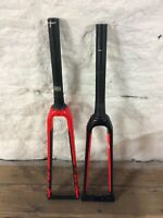 SPECIALIZED ALLEZ FACT FULL CARBON FORK RED BLACK ROAD CYCLING BIKE C