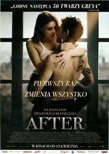Hero Fiennes Tiffin Josephine Langford Jenny Gage - After - Polish promo FLYER