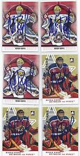 2007 ITG BTP #41 Nicola Riopel Moncton Wildcats Signed Autographed Card