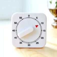 Cooking Wind-up Clock Minutes Counter Timer Kitchen Mechanical Alarm 1hr/60min