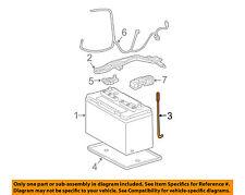 TOYOTA OEM-Battery Hold Down Tie Bracket Strap Bolt 7445152071
