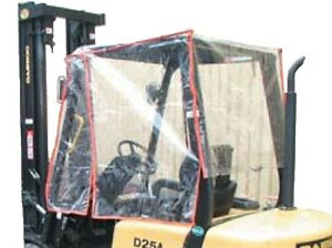PVC-Kabine Wetterschutzhaube Stapler bis 3t  Gabelstapler