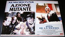 fotobusta originale AZIONE MUTANTE Alex De La Iglesia Pedro Almodovar 1995 #2