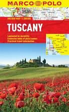 TUSCANY HOLIDAY MAP - NEW - MARCO POLO - LAMINATED