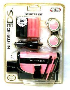 Nintendo DS Lite Starter Kit - Carrying Case, Headphones, AC Car Charger, Stylus