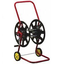 Knauthe Schlauchwagen Metall für Gartenschlauch Trommel in Fahrtrichtung