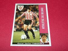 O. JAVIER TABUENKA ATHLETIC BILBAO PANINI LIGA 95-96 ESPANA 1995-1996 FOOTBALL
