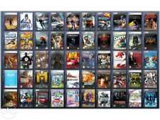 50 x pc games mixed titles. all boxed