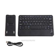 Ultra-Slim Wireless Bluetooth Keyboard Built-in Multi-touch Touchpad for Tablet