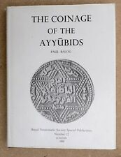 Balog, Paul The coinage of the Ayyubids Islamic coins numismatics numismatique
